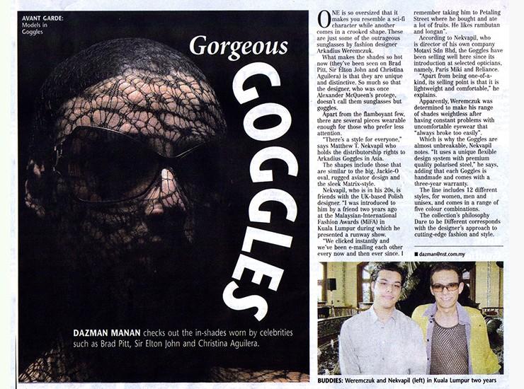press goggles 42